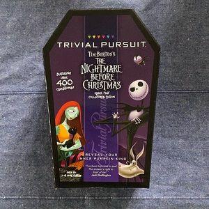 Nightmare Before Christmas Trivial Pursuit NIB